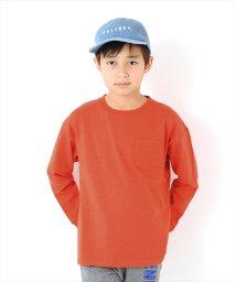 GLAZOS/ボックスシルエット長袖Tシャツ/501925996