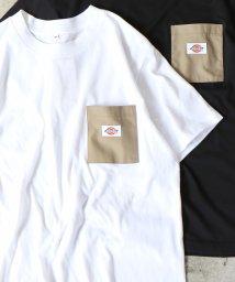 coen/Dickies(ディッキーズ)別注ポケットTシャツ19SS(一部WEB限定カラー)/501926341