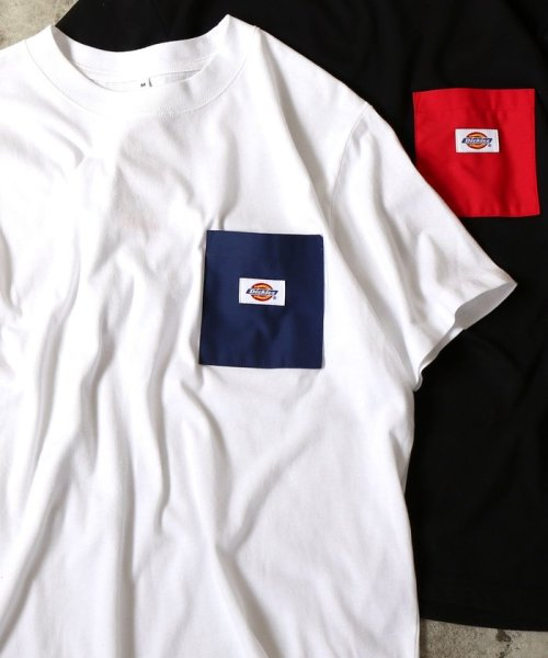 coen(コーエン)/Dickies(ディッキーズ)別注ポケットTシャツ19SS(一部WEB限定カラー)/75256009047