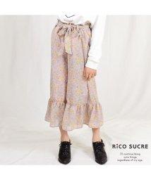 RiCO SUCRE/花柄裾フリルガウチョ/501926678