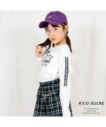 RiCO SUCRE/袖ベルトロングTシャツ/501926685