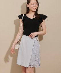 Noela/ラップレース台形スカート /501926758