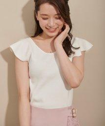 Noela/【美人百花・with 6月号掲載】フリル2WAYニット/501926767