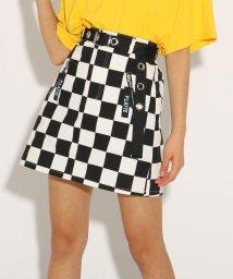 PINK-latte/★ニコラ掲載★ハトメベルト付 スカート/501926798