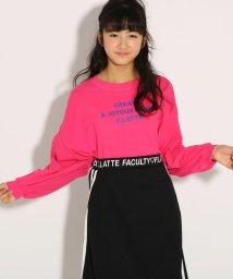 PINK-latte/★ニコラ掲載★ワイドドルマン ロンT/501926808