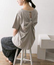 URBAN RESEARCH/バックツイストTシャツ/501927334