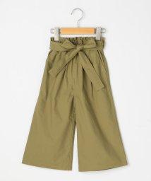 SHIPS KIDS/SHIPS KIDS:リボン ワイド パンツ(100~130cm)/501927355