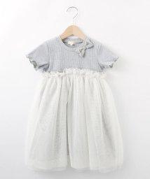 HusHush(Kids)/【90-140cm】テレコチュールワンピ/501928189