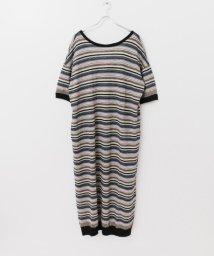 URBAN RESEARCH/R JUBILEE Linen Striped Dress/501929090