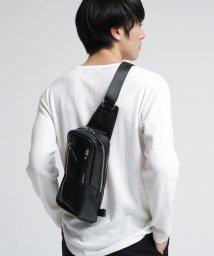 tk.TAKEO KIKUCHI/【WEB限定】レザー縦型ボディバッグ/501929939