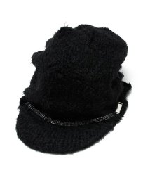 BLACK HONEY CHILI COOKIE/Triple Swaro Knit Casquette/501904320