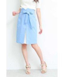 PROPORTION BODY DRESSING/◆フロントプリーツリボンタイトスカート/501930621