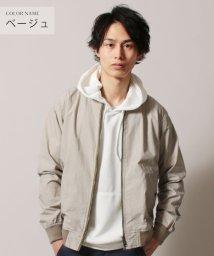 THE CASUAL/(バイヤーズセレクト) Buyer's Select コットンポプリンMA-1ジャケット/501931011