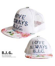 B.J.G./花柄レースキャップ/501932187