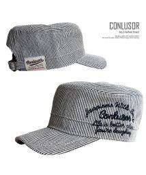 CONLUSOR/チェーン刺繍ワークキャップ/501932190