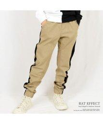 RAT EFFECT/ライン入りジョガーパンツ/501932202