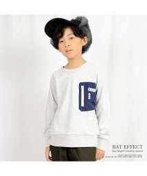 RAT EFFECT/ビッグポケットラグラントレーナー/501932437