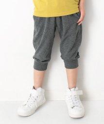devirock/キッズ 子供服 7分丈裾リブパンツ ハーフパンツ 男の子 女の子/501932487