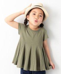 devirock/裾フレアTシャツ/501932503