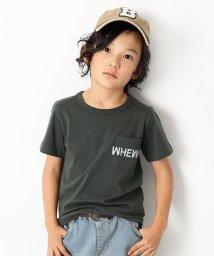 devirock/ポケットロゴプリントTシャツ 男の子 女の子/501932505