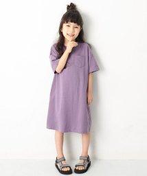 devirock/キッズ 子供服  『ヒナタ』着用アイテム  ロング丈BIGシルエットワンピース 女の子/501932507
