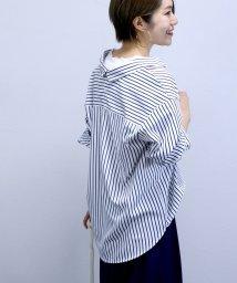 FUNNY COMPANY+/エステルブロードバックボタンスキッパーシャツ/501932573