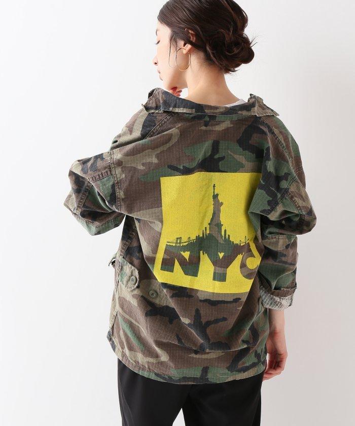 【ROTHCO/ロスコ】 別注JIYUNOMEGAMI*BDSH NYC yellow:ブルゾン