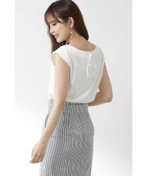PROPORTION BODY DRESSING/◆バックリボンフレンチカットソー/501930630