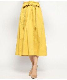 AULI/裾スリットフレアスカート/501935303