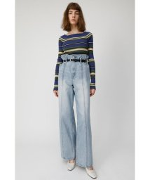 moussy/HI WAIST BELTED STRAIGHT/501935453