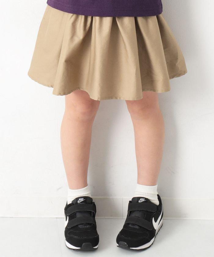 キッズ 子供服 『ヒナタ』着用アイテム ミニ丈ギャザースカッツ 女の子