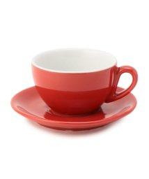 SHIPS Days/IPA:MILANO カプチーノカップ&ソーサー(レッド・ブラウン)/501936927