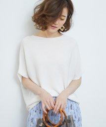 ROPE' PICNIC/【新色追加】ガーター編み風ドルマンスリーブ/501937216