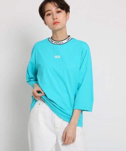 AG by aquagirl(AG バイ アクアガール)/VANS(ヴァンズ)ロゴテープネックTシャツ/201901C1216522