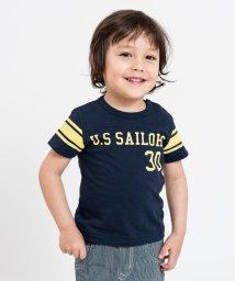 SHIPS KIDS/CHAMPION:【SHIPS KIDS 30th別注】フットボールTEE(80~90cm)/501937482