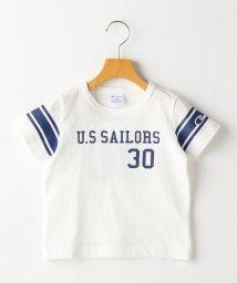 SHIPS KIDS/CHAMPION:【SHIPS KIDS 30th別注】フットボールTEE(100~130cm)/501937483