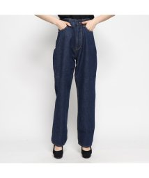 GUESS/ゲス GUESS JANE HIGH RISE RELAX STRAIGHT DENIM PANT 【JAPAN EXCLUSIVE ITEM】 (INDIGO/501937849