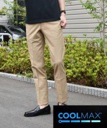 SHIPS MEN/SC: COOLMAX(R) ストレッチ ノープリーツ パンツ/501584679