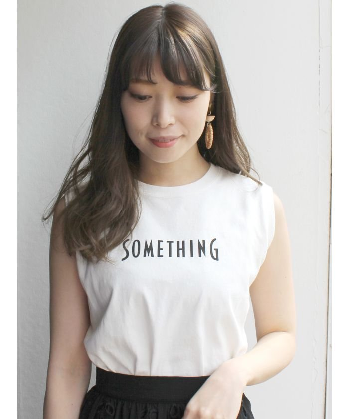 【SOMETHING×MERCURYDUO】 ノースリTシャツ