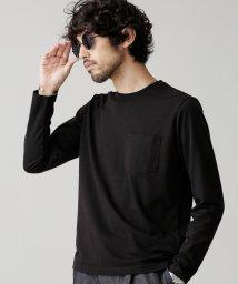 nano・universe/R/CプレーティングクルーネックTシャツ/501913200