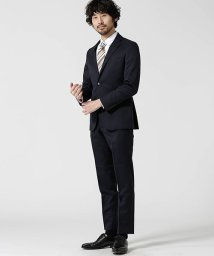 nano・universe/【WEB限定】スーツ+ソリッド+スリム+ネイビー/501919515
