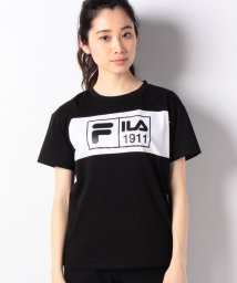 FILA/フロント切替Tシャツ/501932771