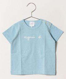 agnes b. ENFANT/S137 L TS ロゴTシャツ/501932792