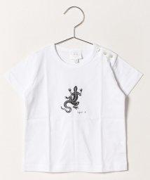 agnes b. ENFANT/SF64 L TS レザールTシャツ/501932794