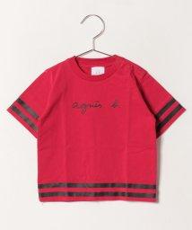 agnes b. ENFANT/SBZ8 L TS スポーティーロゴTシャツ/501932795