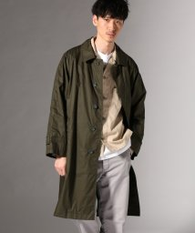 J.S Homestead/Compact Twill Balmaccan Coat/501938388