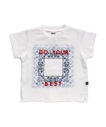 BREEZE / JUNK STORE/バンダナプリントTシャツ/501588987