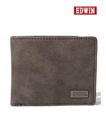 MARUKAWA/【EDWIN】エドウィンダークメタルプレート二つ折り財布/501898155