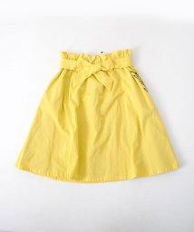 ZIDDY/リボン付きヒザ丈ツイルスカート/501909585