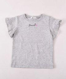 Noeil aime BeBe/【カタログ掲載】天竺袖フリルTシャツ/501910585